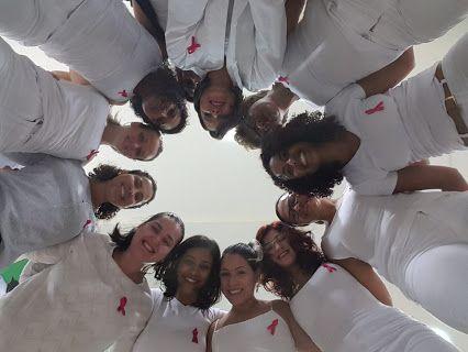 OUTUBRO ROSA. Todas unidas contra o câncer de mama!