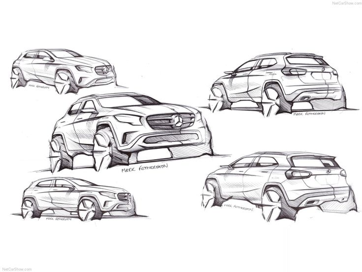 mercedes design sketches - Google zoeken
