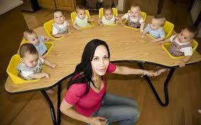 Public reaction turned negative when it was discovered that Octuplets mom, Nadya Suleman, already had six other young children, was unemployed, and on public assistance programs.  She now faces a new criminal charge of welfare fraud, bringing the number of counts against her to four. Prosecutors accuse Suleman of not reporting that she was making thousands of dollars as a topless dancer and adult film actress when she applied for government aid in 2013.