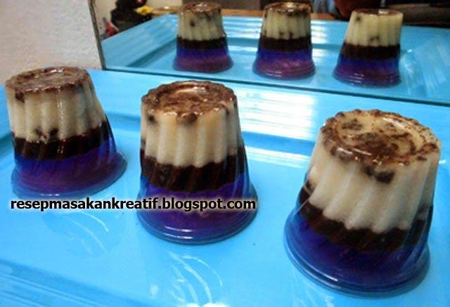 Puding Oreo Lapis Jelly
