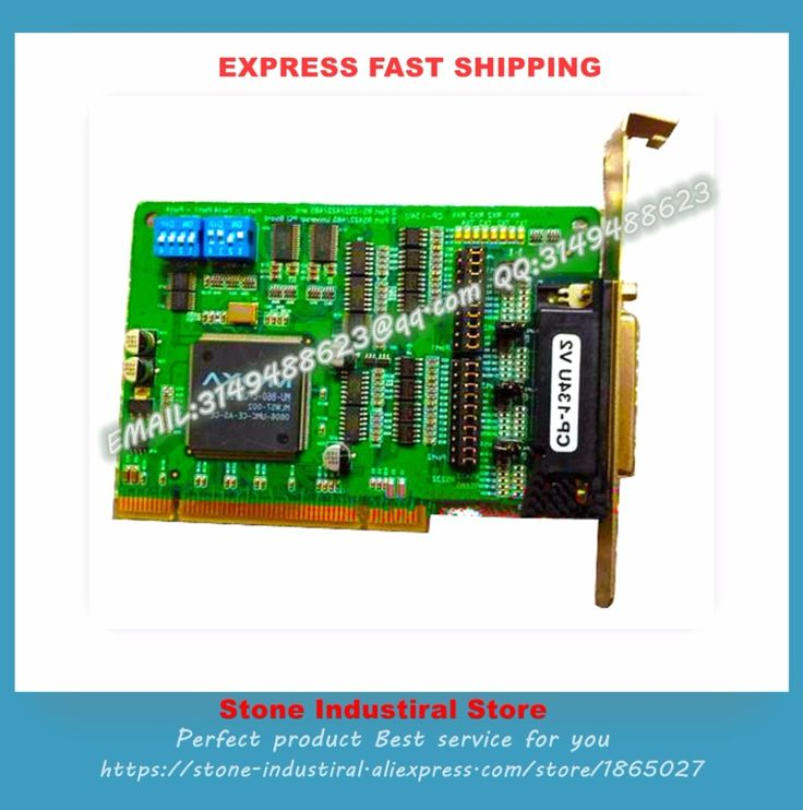 CP-134U V2 4 RS-422/485 PCI Multiport Serial Card 100% test good quality