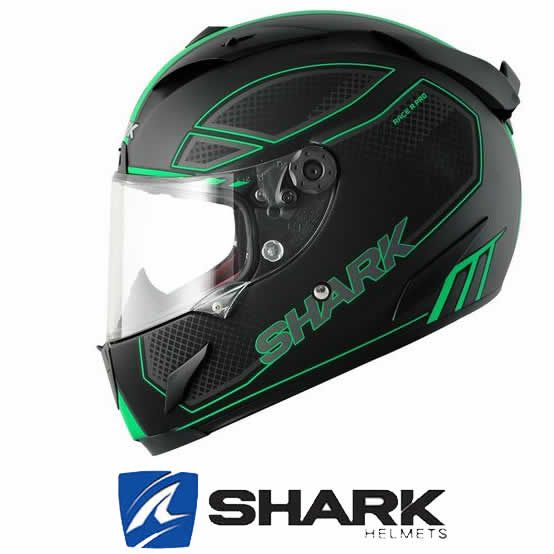 Shark Race R Pro Chaz Mat Helmet Black Green Http Www