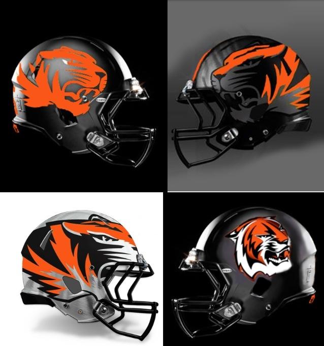 Tiger Football Helmet | www.pixshark.com - Images ...