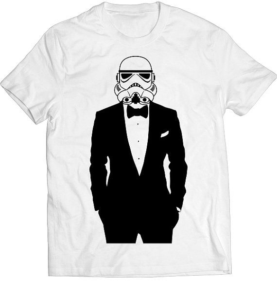 Funny Storm Trooper Suit Tshirt Gift T-shirt Tee Dad by mindmytees
