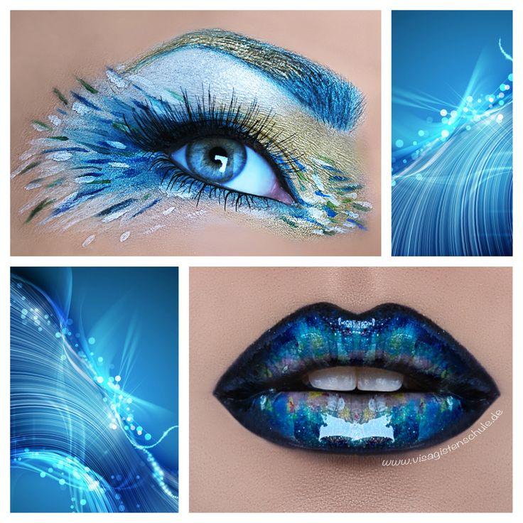 The Power of Water  Eyes/Lips: Absolventin Jessica Drazic Foto: ©MAF - Make-up Artsit Factory  Mehr Infos über die Visagistenausbildung bei uns: http://www.visagistenschule.de/