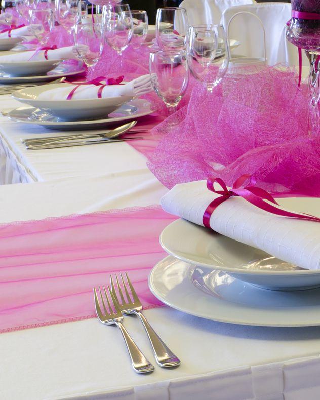 Идеи для украшение столов на свадьбе