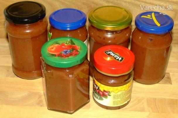 Pečený jablkový lekvár (fotorecept)