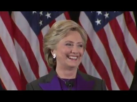 LIVE STREAM: Hillary Clinton FULL Concession Speech | Election 2016