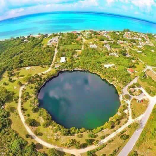 Rock Sound Ocean Hole Eleuthera Bahamas