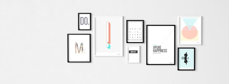 Art prints set - best way to fill your empty walls :) www.whatsdesign.pl