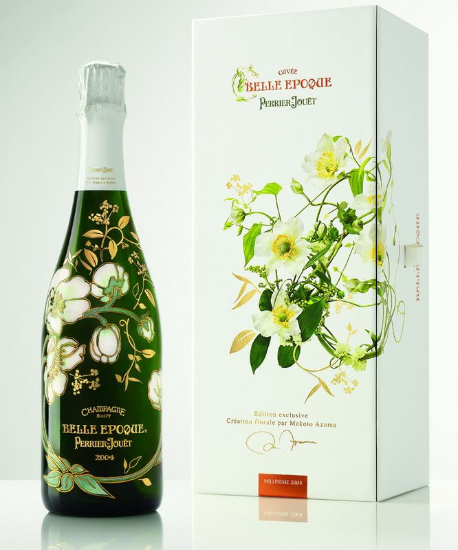 Perrier-Jouët Has Unveiled the Belle Epoque Florale Edition Bottle by Makoto Azuma – POPSOP.COM. Brand news. Brand design. Package design. Branding agencies. Brand experts