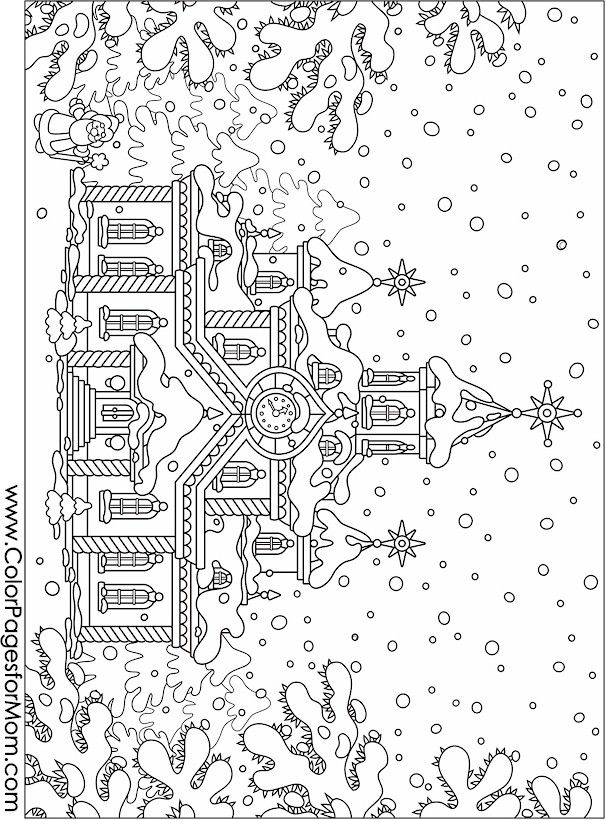 Christmas Coloring Pages 13