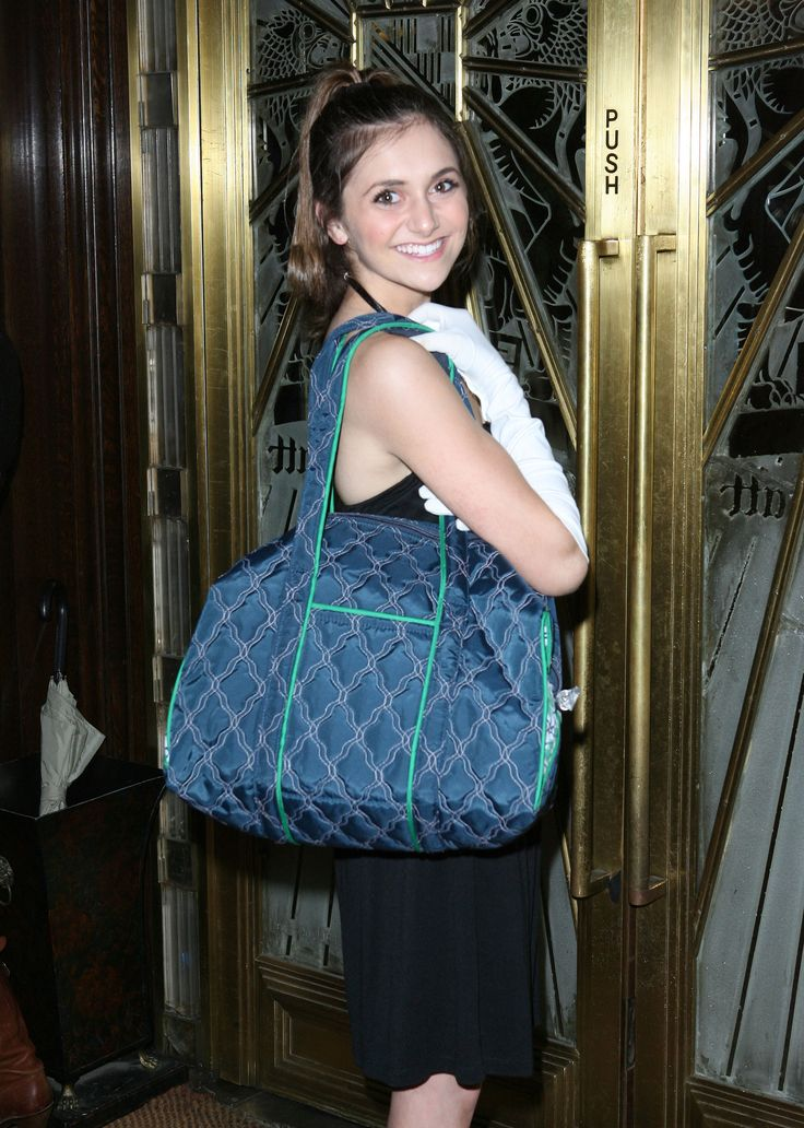 Alyson Stoner and get bag