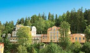 "Kurhotel Royal Marienbad: Komplexe Heilkuren im ""Bad der vierzig Quellen"" http://www.fitreisen.de/guenstig/tschechien/westboehmen/marienbad/kurhotel-royal-marienbad/ #marienbad #tschechien #kuren #heilkuren #kurhotel"