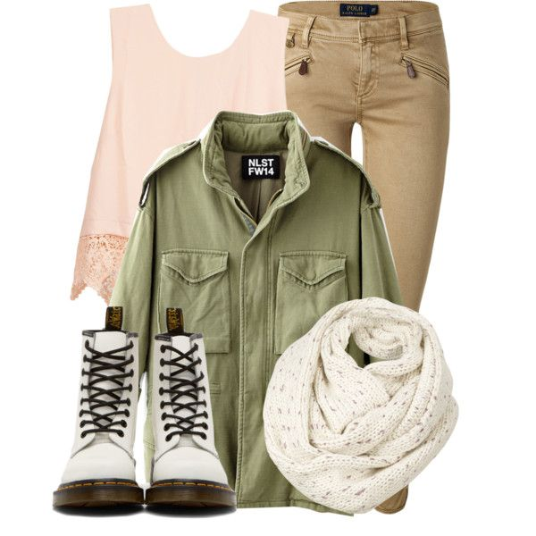 Untitled #113 by lazurusrising on Polyvore featuring Lush Clothing, NLST, Polo Ralph Lauren, Dr. Martens and Fat Face