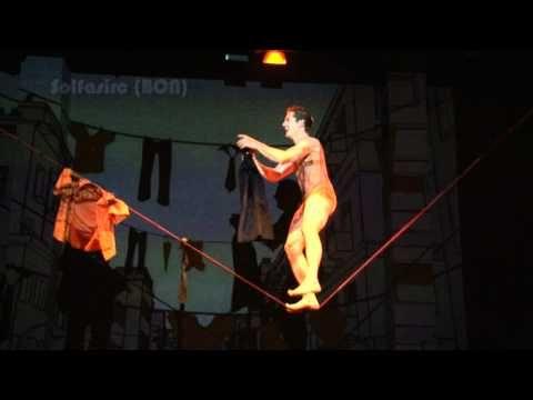 Circo y Multimedia. Proyecto nuevas tenoclogías aplicadas a las artes circenses. AVC - YouTube