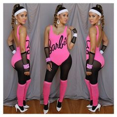 workout barbie and ken costume - Google Search
