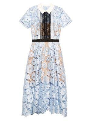 Flower Garden guipure-lace dress | Self-portrait | MATCHESFASHION.COM UK