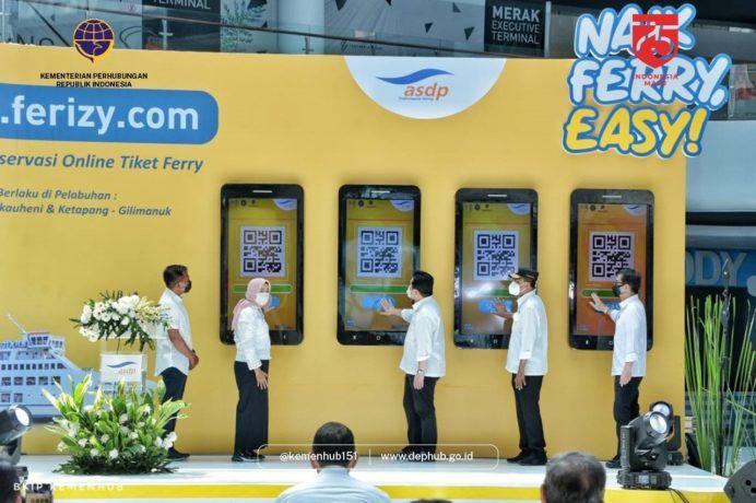 Pemerintah Resmikan Layanan Pembelian Tiket Online Kapal Penyeberangan Pelayan Pemerintah Tiket