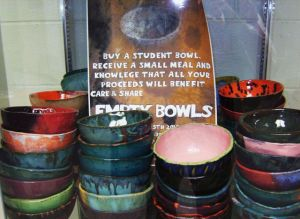 Empty Bowls Hunger Service Learning Project