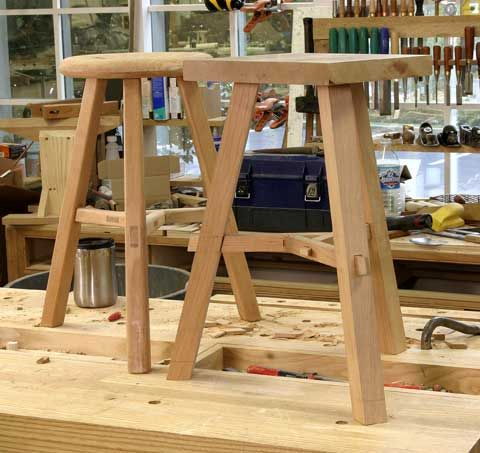 123 Best Woodworking Custom Seats And Stools Images On