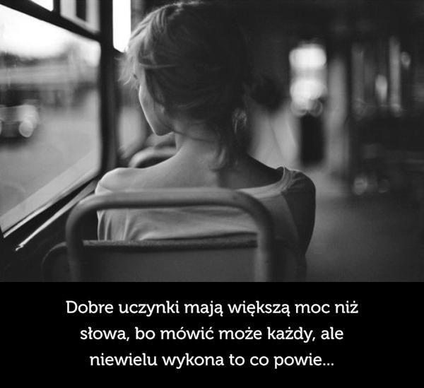 Nie obiecujcie za wiele tylko czyńcie dobre uczynki bo słowem wiele nie zdziałacie.   http://hasiok.com.pl/857/Dobre-uczynki-maja-wieksza-moc