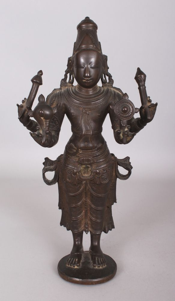 Other Asian Antiques Asian Antiques Indian Bronze Deity Figure Asian Hindu