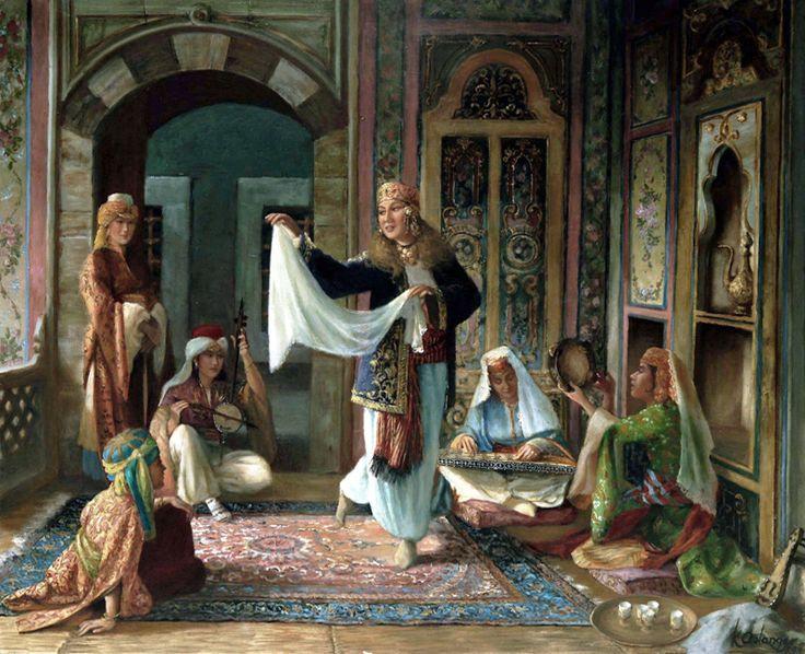 :::: PINTEREST.COM christiancross :::  osmanlı harem tabloları - Google'da Ara