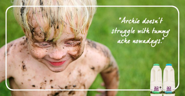 a2 Milk™ was the answer to Archie's milk intolerance. Discover new research about lactose intolerance symptoms.