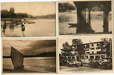 HOSSEGOR Pêcheurs lac Grand Hôtel du Lac (4 cartes)