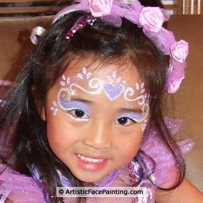 32-Artistic-Face-Painting-Palatine-Fairy-Princess
