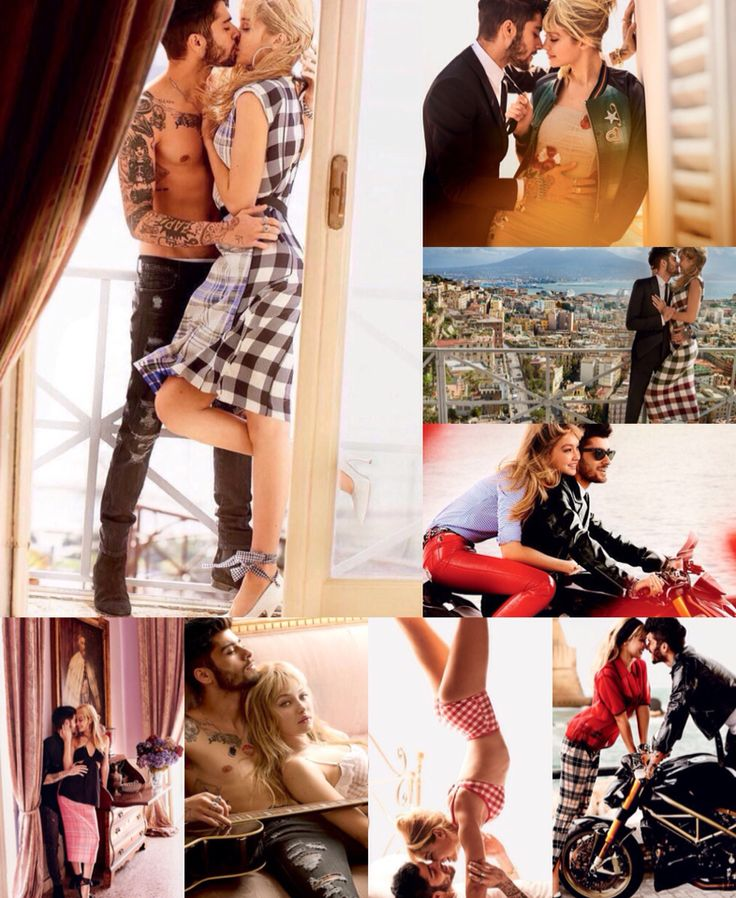 Zayn Malik and Gigi Hadid Vogue Magazine 2016