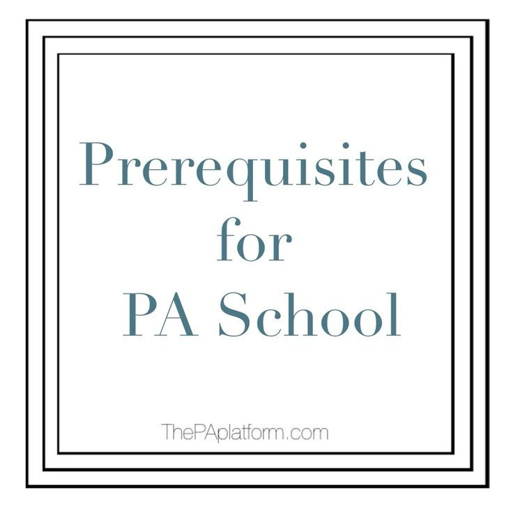 When it comes to the classes required to get into PA school, most programs  are pretty similar across the board. Occasionally one program will be more  picky than another or have more required courses, but the basics tend to be  the same.  If you already have a Bachelor's degree and are going back to take classes,  it will be easier to pick and choose what you need. Some schools require  that courses be done within a certain time frame (like the last 5 or 10  years), while others will…