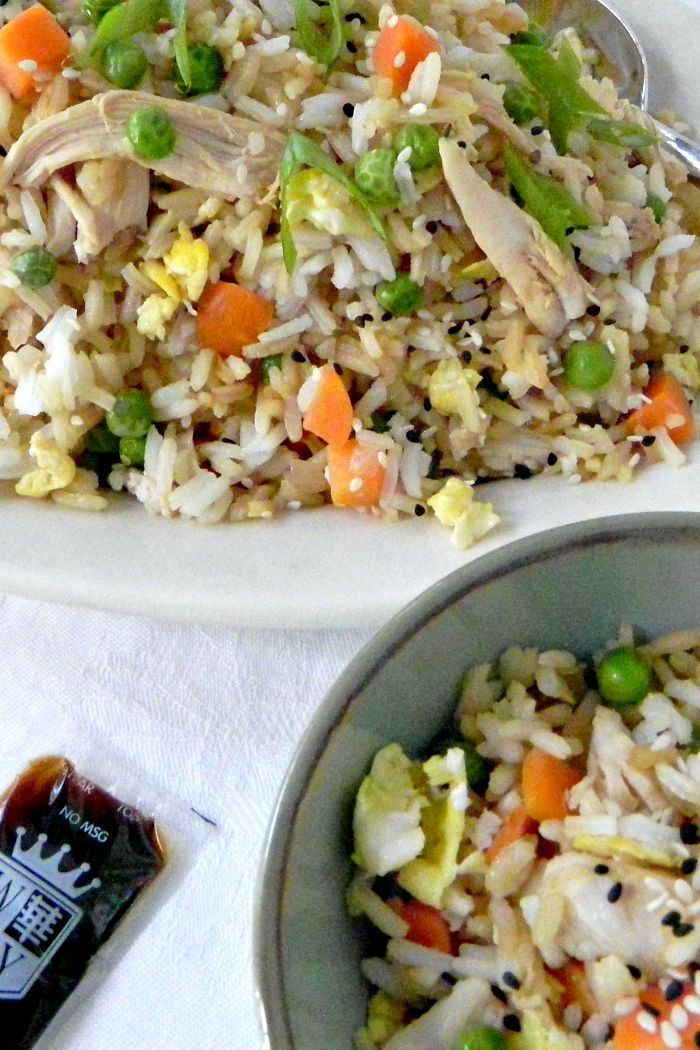 Easy Dinners | Chicken Fried Rice Recipe | Chicken Recipe