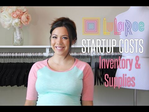 LuLaRoe Startup Costs: Initial Inventory & Supplies - YouTube