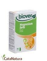Magenesium Forte 45 Capsulas BioverLas capsulas de Magnesium forte 45 cap están indicadas para adultos y niños a partir de 6 años. El magnesio ayuda a un correcto funcionamiento del sistema nervioso y de la musculatura....