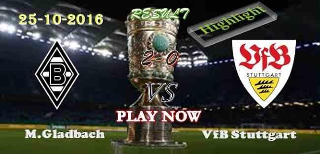 Borussia M.Gladbach 2 - 0 VfB Stuttgart 25.10.2016 HIGHLIGHTS - PPsoccer