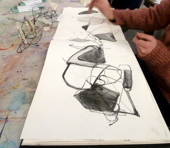 Drawing and Making: processes feeding each other