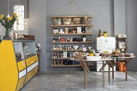 article-image Located in the newly gentrified Woodstock neighborhood of Cape Town, Superette is a cafe and retail outpost opened by Justin Rhodes and Cameron Munro, the entrepreneurial duo behind the nearby Neighbourgoods Market.