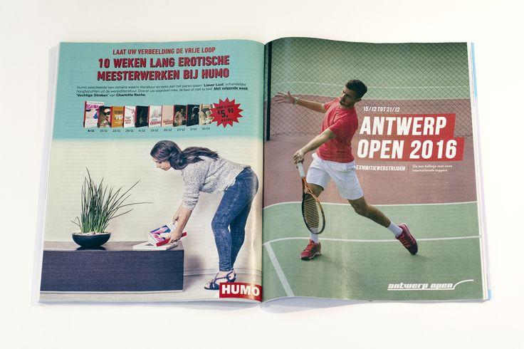 Humo Magazine: Double Page