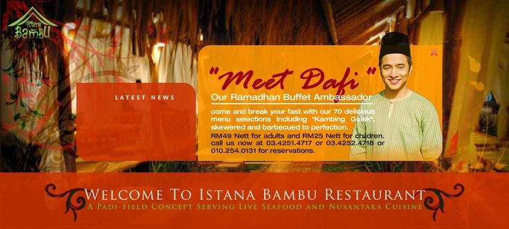 Welcome to Istana Bambu Restaurant | Istana Bambu Restaurant