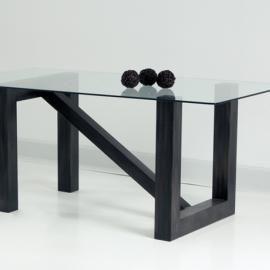 Mesa Comedor Barcelona. Mesa de forja modelo Barcelona, diseño robusto y minimalista. Medidas: 75 X 120 X 75.