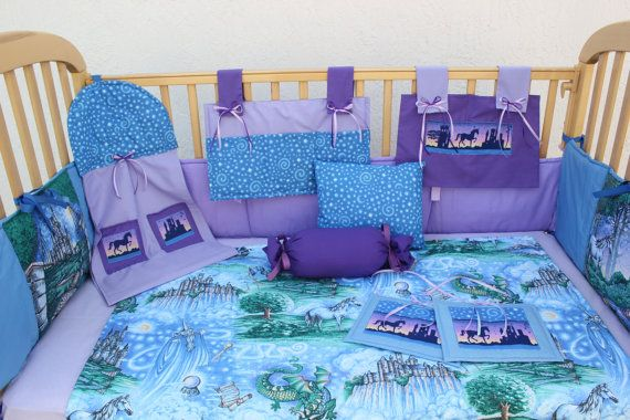 Fairy Tale 12 Piece Baby Bedding Crib Set By