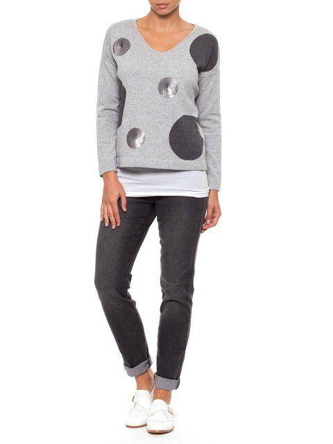 Metalicus Mae Boxy Spot Knit | Kimberley Resort Shell | Sonny jeans