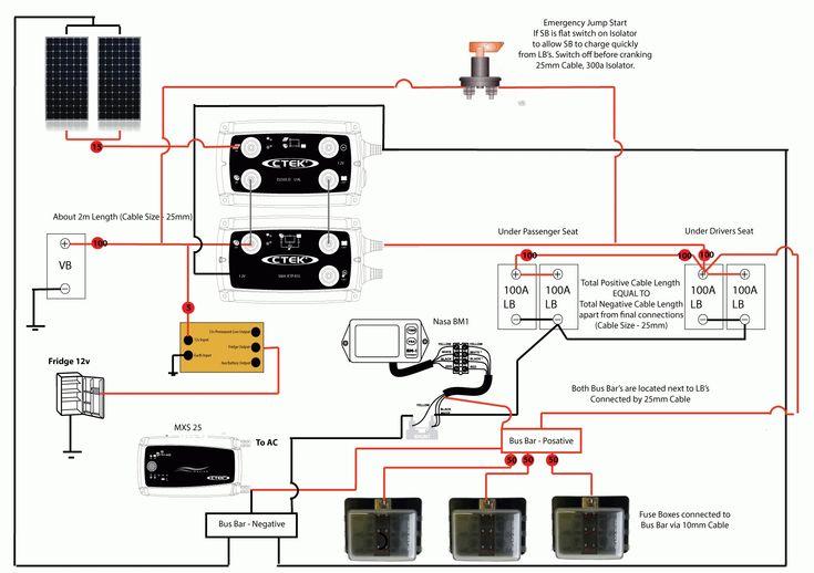 Sterling Caravan Wiring Diagram Nasa Battery Monitor Wiring Diagram Wiringdiagram Org
