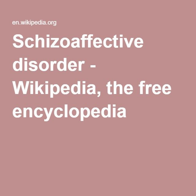 what is schizoaffective disorder pdf