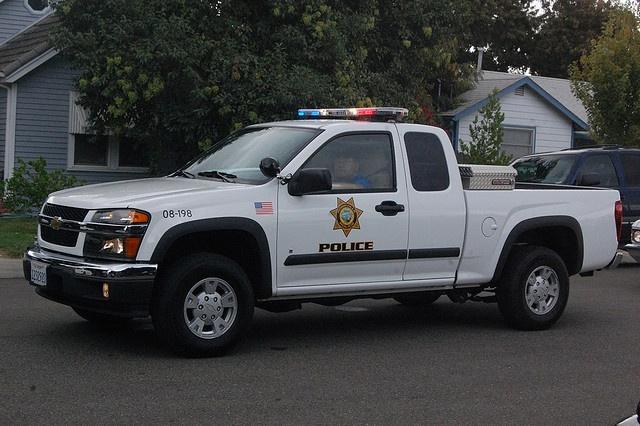 chevy police trucks - photo #2