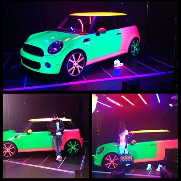 Neon colour g rides pinterest neon colors car wrap and cars sciox Choice Image