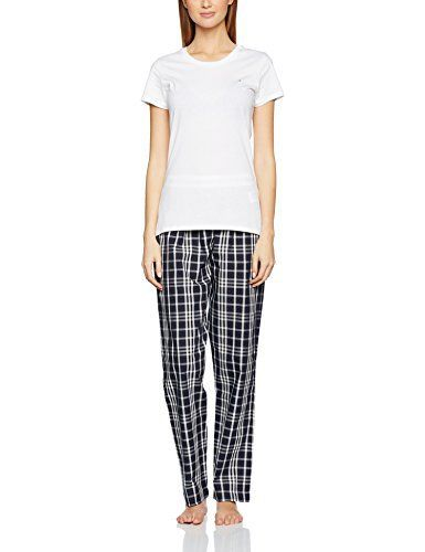 Tommy Hilfiger Women's Lucilue Ss Iconic Pyjama Sets  buy now from Amazon £39.62  Blouses, coats, hoodies, nightwear, Shirts, t-shirts for womens, Tops, vest top womens