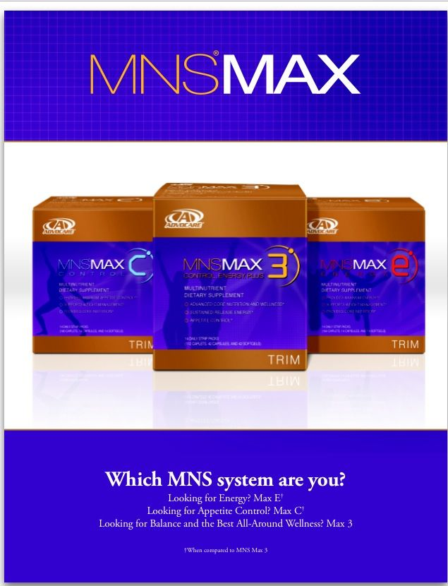 Advocare MNS. www.ourfitandhealthylife.com